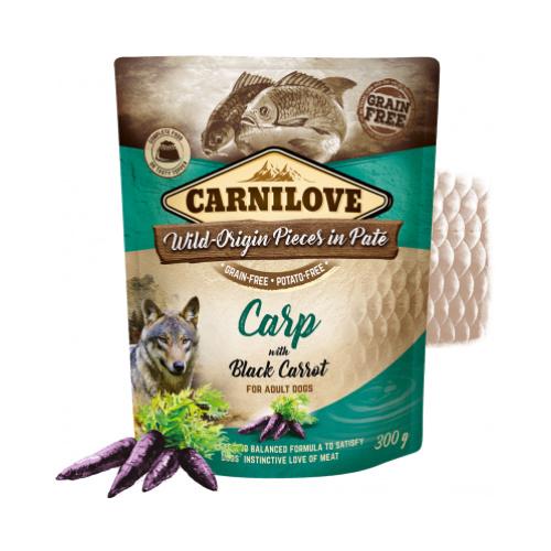Carnilove Pouch - Carp & black carrot 300 gram