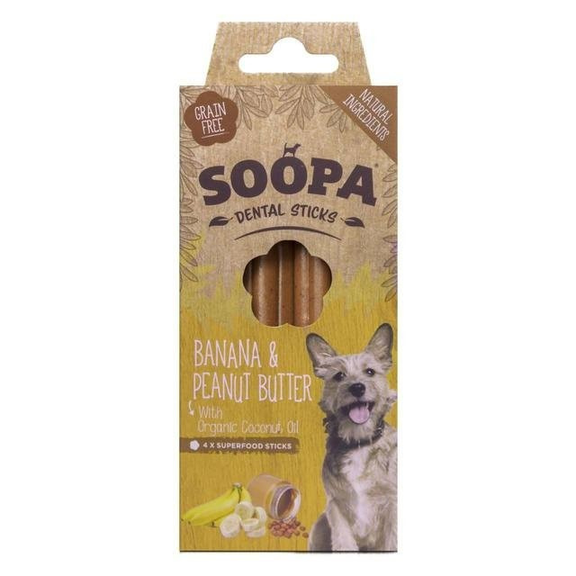 SOOPA Dental Sticks Banana - Peanutbutter