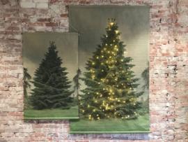 Kerstboom schoolplaat L