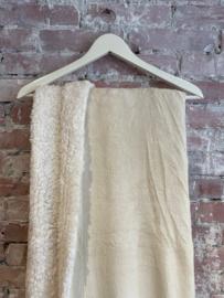 Fleece plaid dove