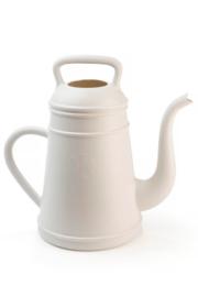 Lungo gieter 12 liter wit-grijs