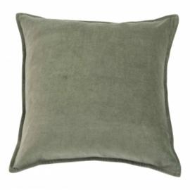 Kussen Velvet Army Green