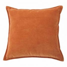 Kussen Velvet Dark Orange
