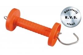 631.247 speciale poortgreep oranje met r.v.s. haak