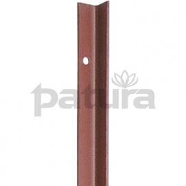 631.026 hoekstaalpaal 3 mm.1,5 mtr. verp. 10 st.