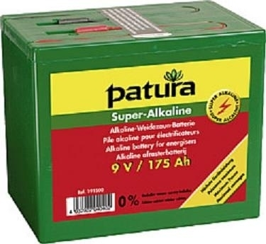 631.198 super alkaline batterij 9V 55ah t/m 200ah.