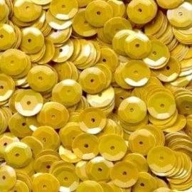 Pailletten geel