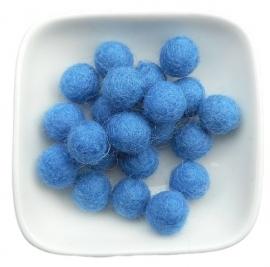 balletje 1cm middenblauw