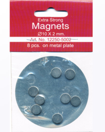 8 magneetjes extra strong