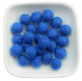 balletje 1cm koningsblauw