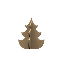 MDF kerstboom 12cm