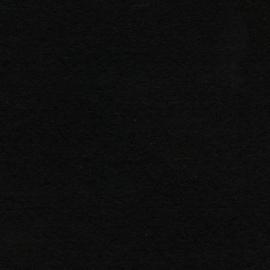 3mm Dik wolvilt zwart 45x50cm