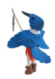 IJsvogelmannetje Pippilotta