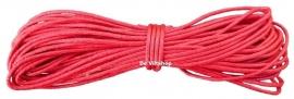 waxkoord rood 5m