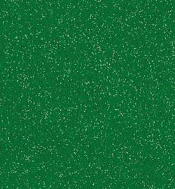 Glittervilt groen