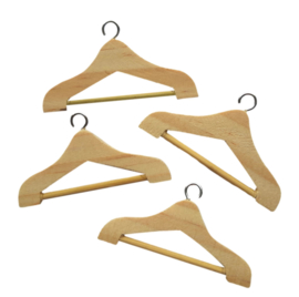 Miniatuur kledinghangers