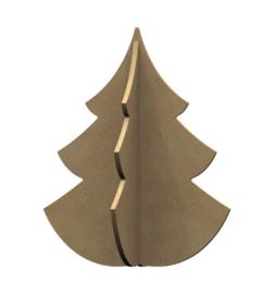MDF figuur kerstboom 30cm