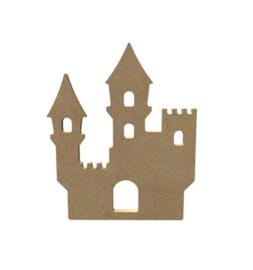 Mdf figuur kasteel 15cm