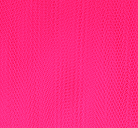 Tule fluor cerise 145 breed