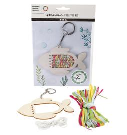 Mini Creative Kit Vis sleutelhanger