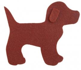 Vilten hondje
