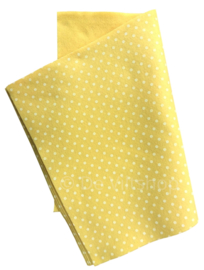 Vilt met stippen geel