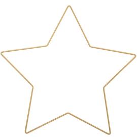draadster goud 30x28,5cm