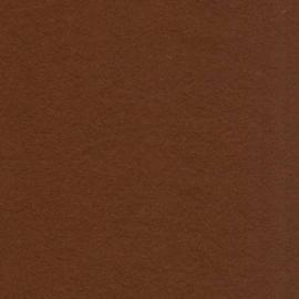 3mm Dik wolvilt bruin 45x50cm