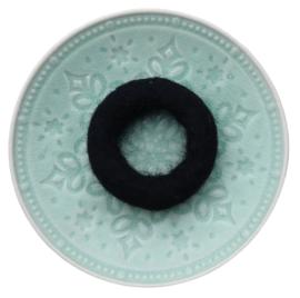 Vilten ring Zwart