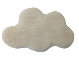 Handgevilten wolk Ecru