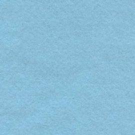 Wolvilt Lichtblauw 15x20