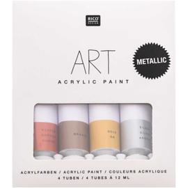 Acrylverfsetje Feest! 4x12ml