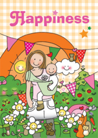 Kaart 'Happiness'