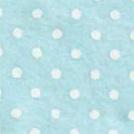 Vilt met stippen babyblauw