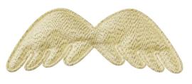 Vleugels goud 3st 7,5cm