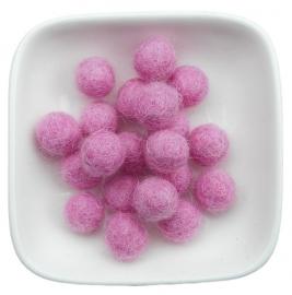 balletje 1cm oud roze