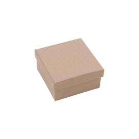 Vierkant doosje 5x5x2,5cm