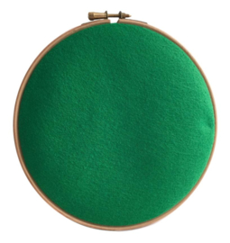 Woolblend Kelly green
