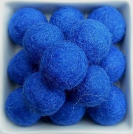 balletje 2cm koningsblauw