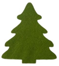 Kerstboom 11x13cm