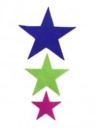 gestanste ster klein