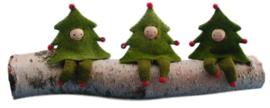 Drie kerstboomboefjes Pippilotta