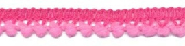Mini pompomband roze