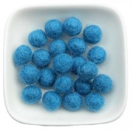 balletje 1cm blauw