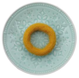 Handgevilten ringen