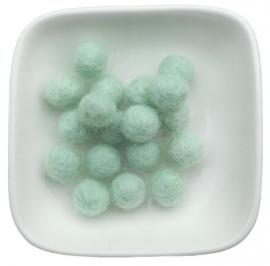 balletje 1cm soft mint