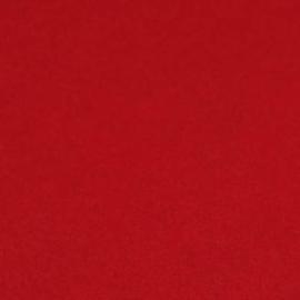 3mm Dik wolvilt rood 45x50cm