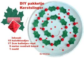 DIY Pakket kerstslinger