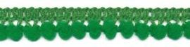 Mini pomponband groen