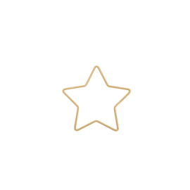 draadster goud 11x10,8cm
